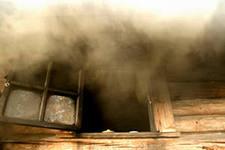 печь дымит