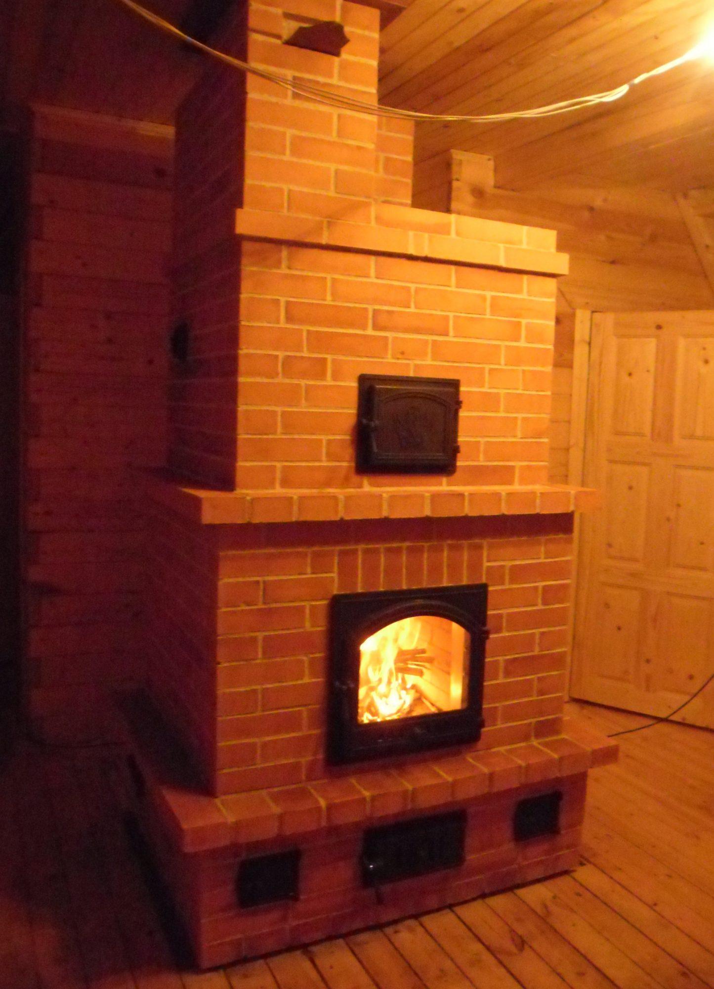 теплоёмкая печь