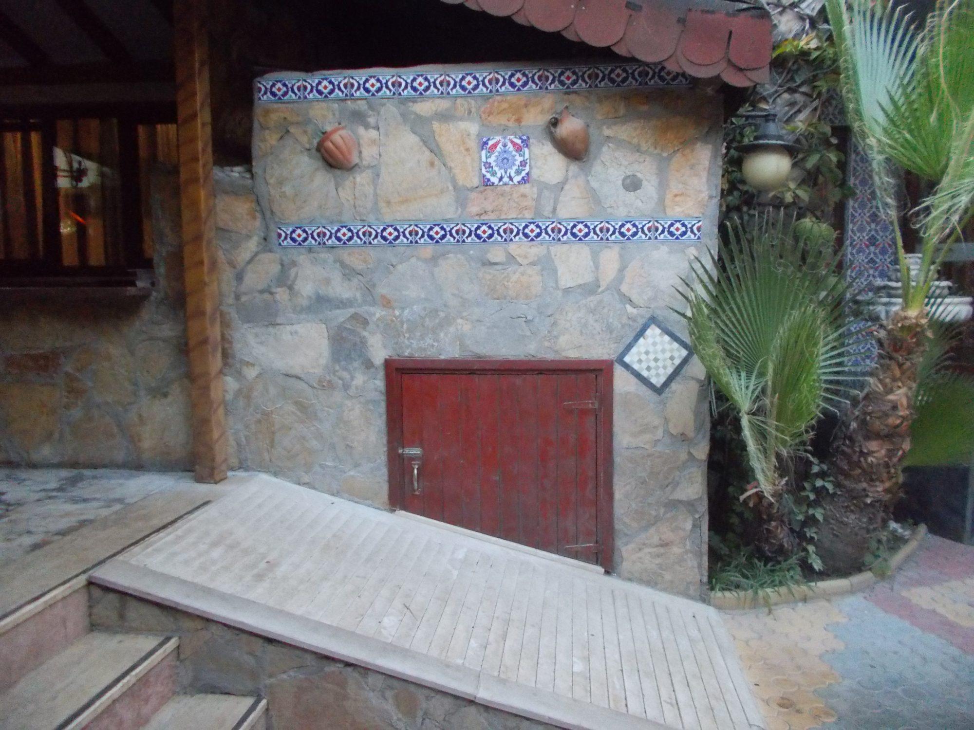 Подовая хлебопекарная печь в Турции.