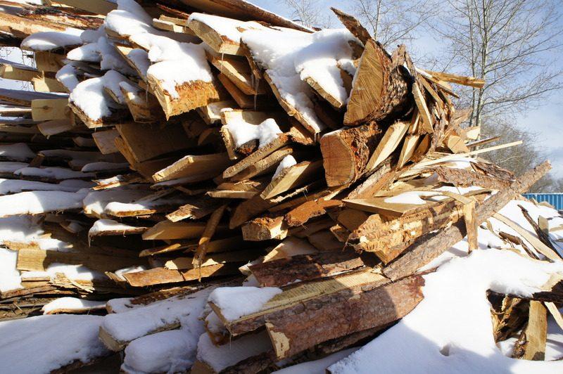 дрова горбыль