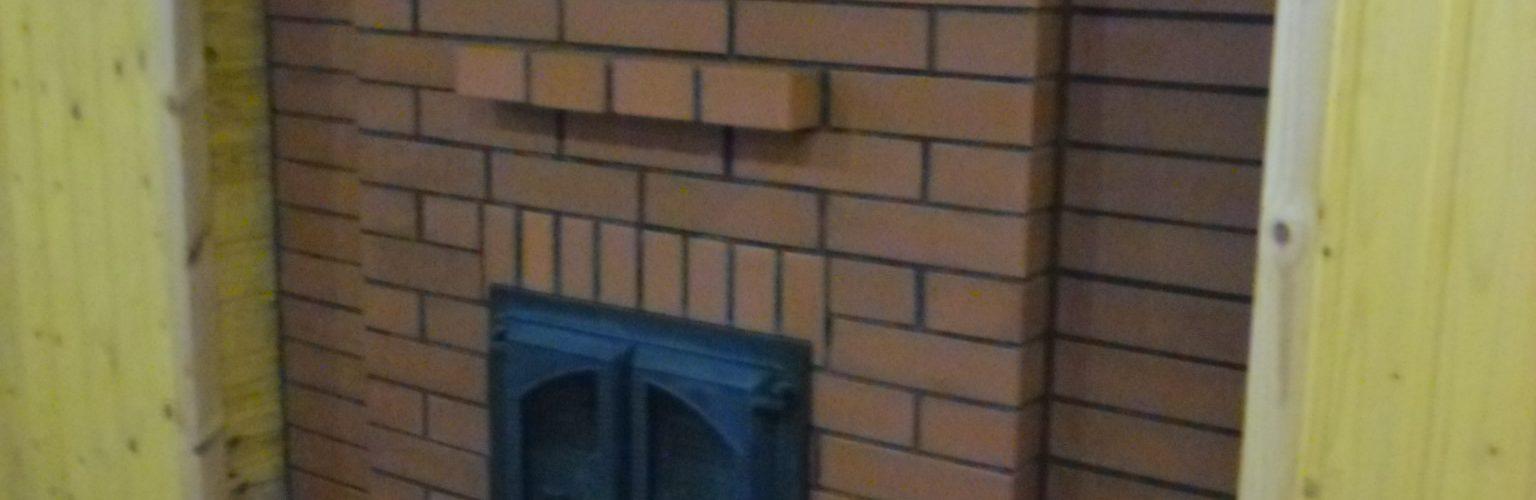 камин отопительный с хлебной камерой
