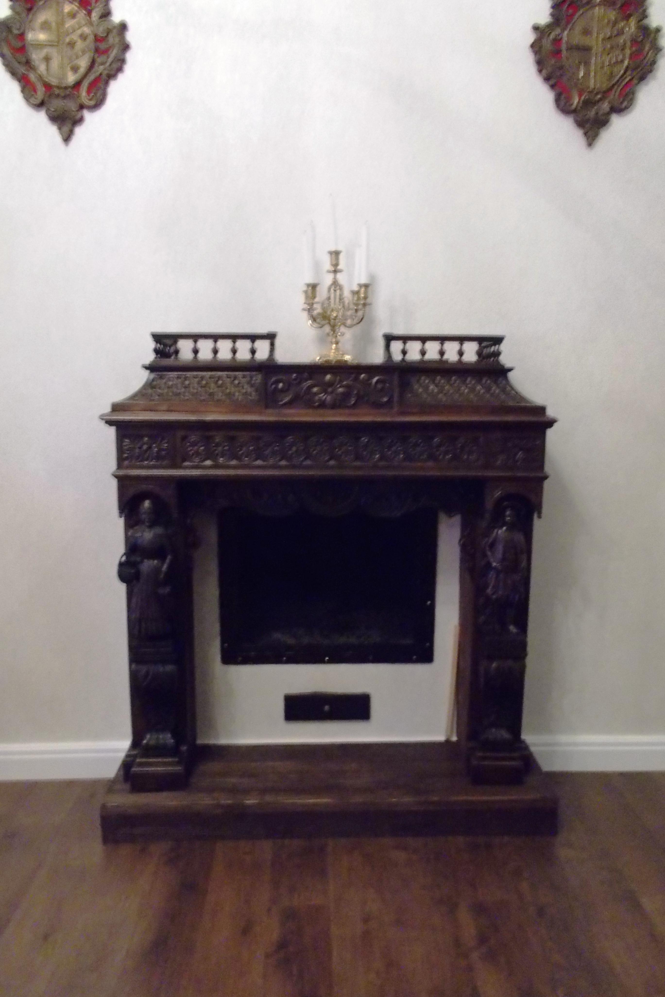 классический портал в Викторианском стиле