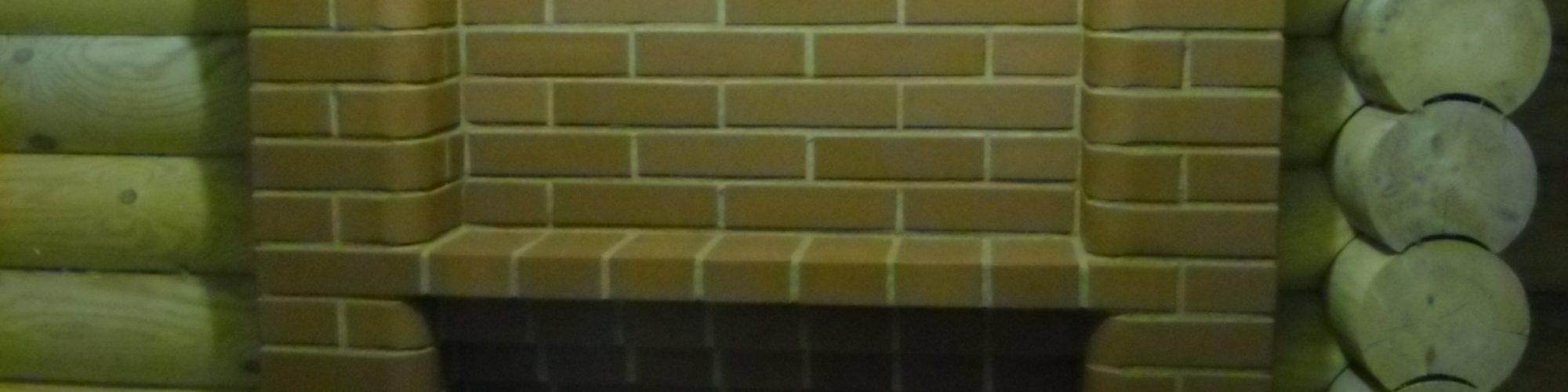 Банная печь, топка через стену.