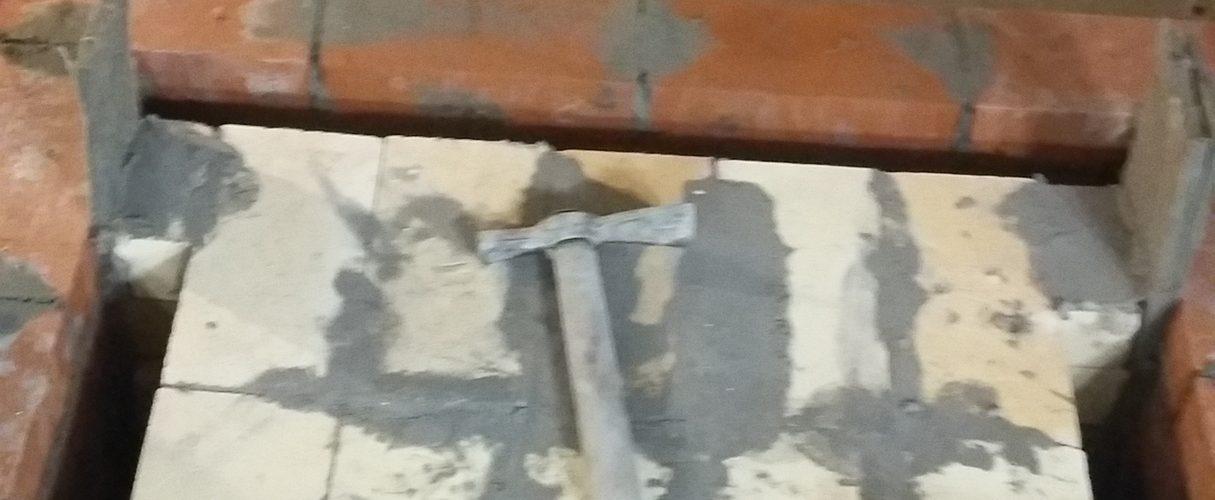 Огнеупорное ядро отопительного камина