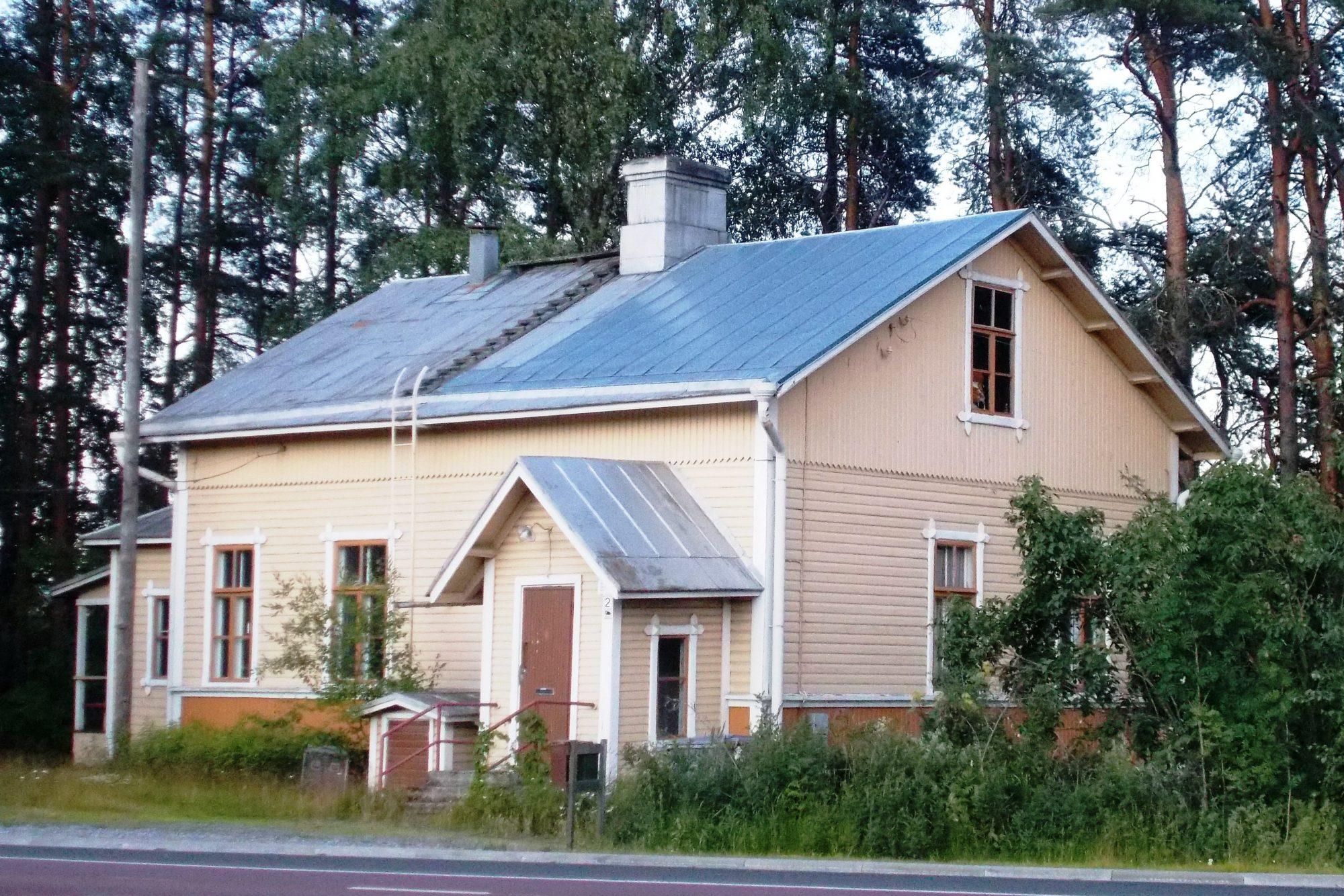 Финский деревянный дом.