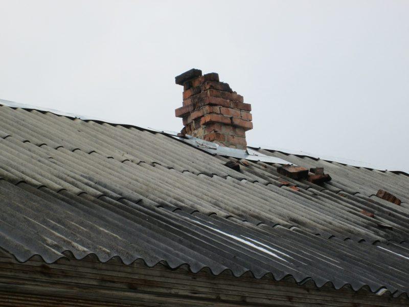 Ремонт странной плиты на даче.
